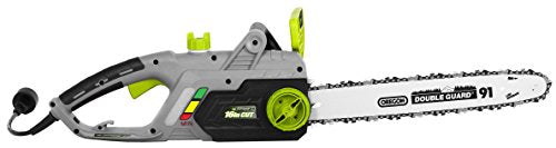 Earthwise CS33016 Electric Chain Saw, 16-Inch, 12-Amp Green Corded,