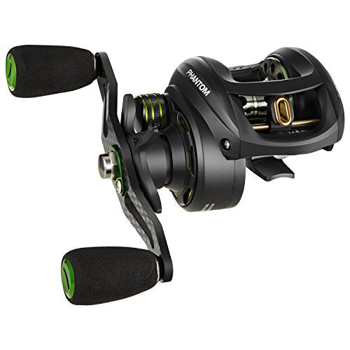 Piscifun Phantom Carbon Baitcasting Reel - Only 5.7oz, Our Lightest Baitcaster, 17LB Carbon Fiber Drag, 7.0:1 Gear Ratio, Dual Brakes Baitcast Fishing Reels, Incredible Cast Distance (Right Handed)