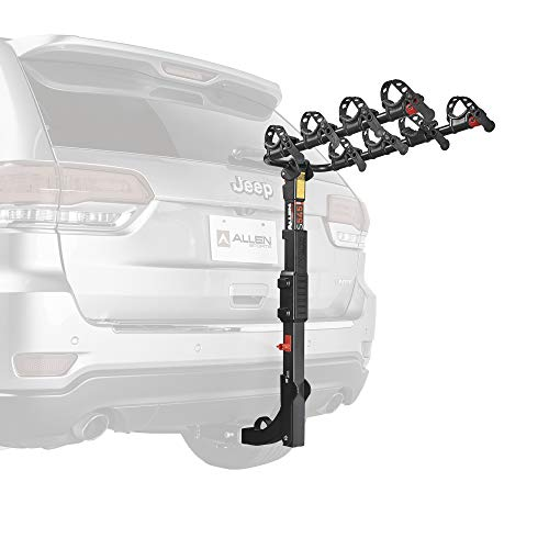Allen Sports Premier Hitch Mounted 4-Bike Carrier, Model S545