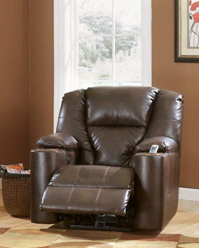 Signature Design by Ashley 7640106 Paramount DuraBlend Collection Power Recliner, Brindle