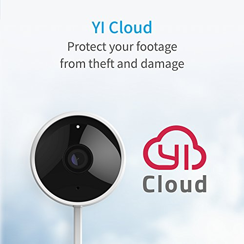 YI Outdoor Security Camera, 1080p 2.4G Wireless IP Waterproof Night Vision Surveillance System with 24/7 Emergency Response, Motion Detection, Activity Alert, Deterrent Alarm - iOS, Android App