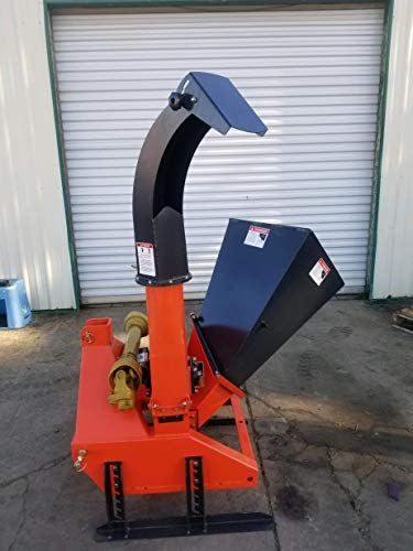 "Farmer Helper Wood Chipper 4""dia. Cat.I 3pt 16HP+ Rated (BX42)"
