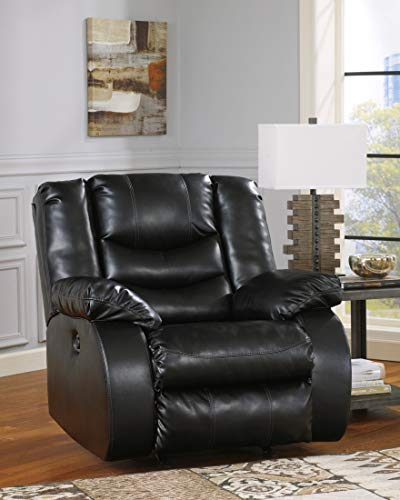 Signature Design by Ashley 9520225 Linebacker DuraBlend Collection Recliner, Black