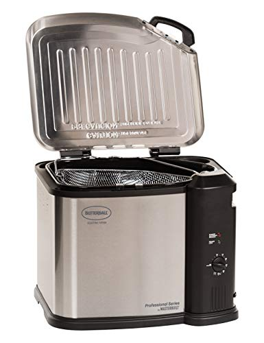 Masterbuilt MB23012418 Butterball XL Electric Fryer, Gray