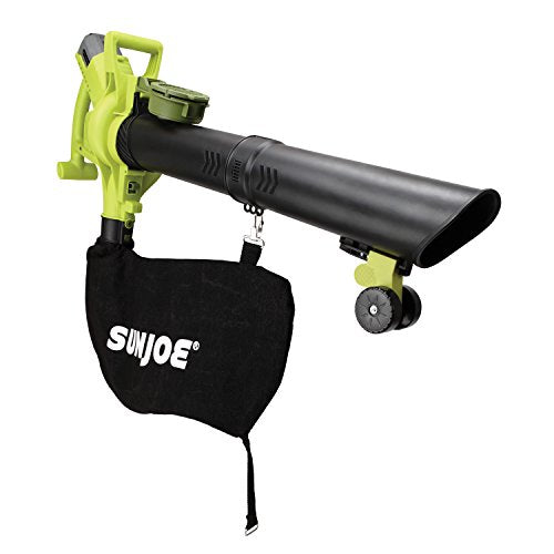 Sun Joe iONBV 40V 4.0 Ah Variable-Speed (Up To 201 Mph) Cordless Blower/Vacuum/Mulcher