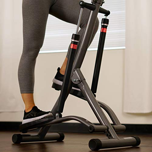 Sunny Health & Fitness Stair Stepper Exercise Equipment Step Machine for Exercise - SF-1115