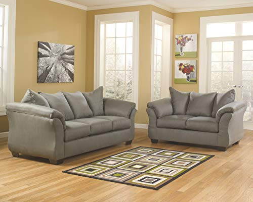 Signature Design by Ashley 7500538 Darcy Sofa, Cobblestone