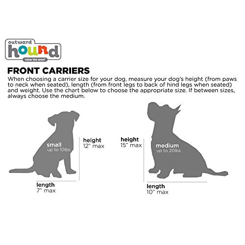 Outward Hound PoochPouch Front Carrier Dog Backpack