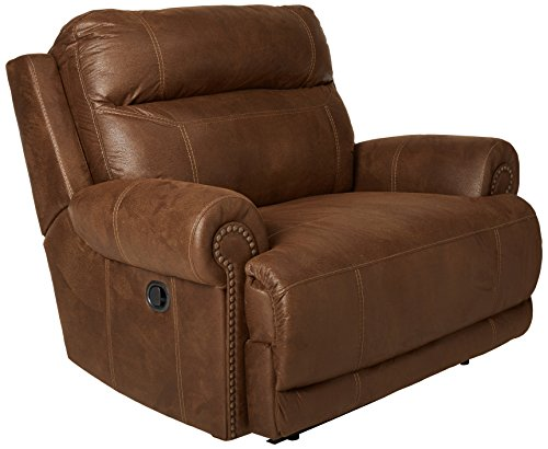 Ashley Furniture Signature Design Austere Manual Oversized Recliner - Brown