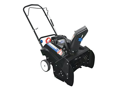 AAVIX AGT1421 Single Stage Snow Blower with Electric Start, 163cc/21, Blue