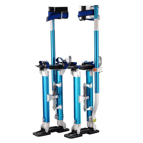 "1121 Pentagon Tool Professional 24""-40"" Blue Drywall Stilts Highest Quality"