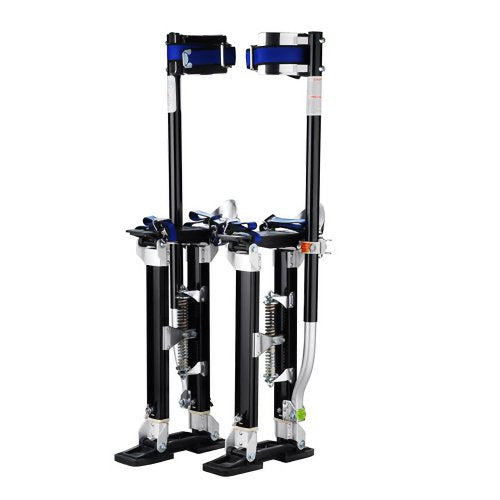 "1120 Pentagon Tool ""Tall Guyz"" Professional 24""-40"" Black Drywall Stilts For Sheetrock Painting or Cleaning"