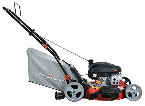 PowerSmart DB2321P Lawn Mower, Black and red