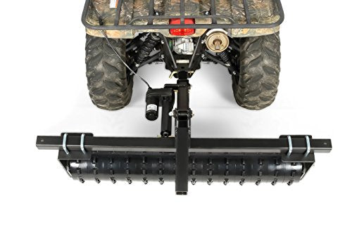 Camco Black Boar ATV/UTV Cultipacker Implement, Breaks Up Clods, Packs Down Loose Soil and Forces Seed Bed (66009)