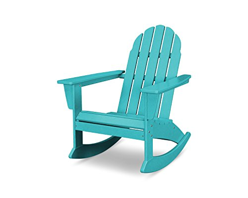 POLYWOOD Vineyard Adirondack Rocking Chair (Aruba)