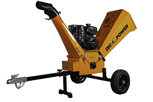 "DK2 Power 14HP 6"" Gas Powered Chipper Shredder with Kohler Engine OPC506"