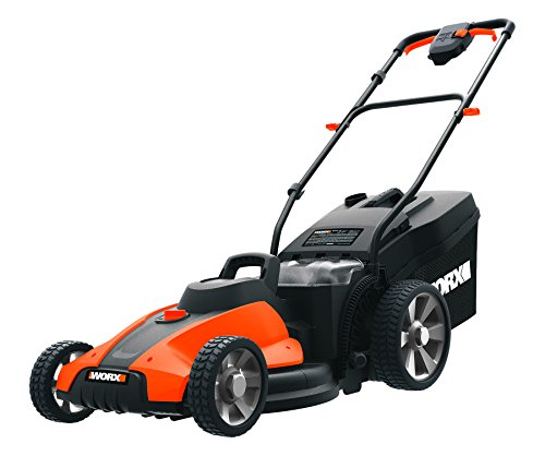 Worx WG744.9 17-inch 2x20V Cordless Lawn Mower, Bare Tool Only