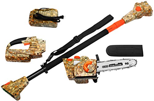 Earthwise Camo 40-Volt 10-Inch Cordless Chainsaw/Pole Saw Combo (with Carrying Case)
