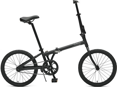Critical Cycles 2643 Judd Folding Bike Single-Speed with Coaster Brake, Matte Black, 26cm/One Size