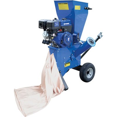 Powerhorse Chipper/Shredder - 420cc OHV Engine, 4in. Capacity