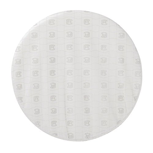 "Classic Accessories Montlake Round Cushion Foam & Slip Cover, Antique Beige, 15"" Dia x 2"" Thick"