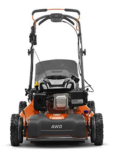 Husqvarna L321AHE Lawn Mowers, Orange/Gray
