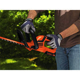 BLACK+DECKER 20V MAX Cordless Hedge Trimmer, 22-Inch, Tool Only (LHT2220B)
