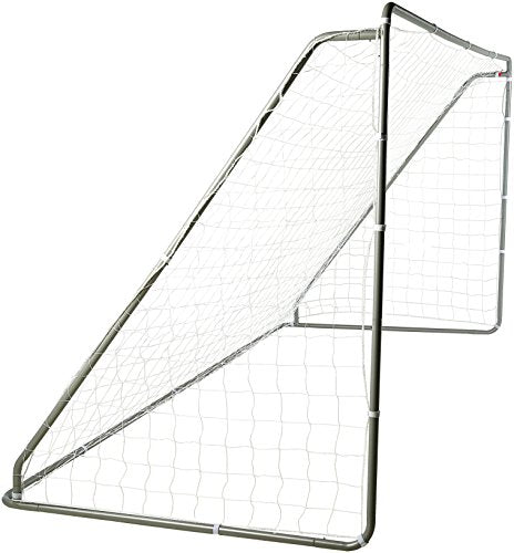 AmazonBasics Soccer Goal Frame With Net - 12 x 6 x 5 Foot, Steel Frame