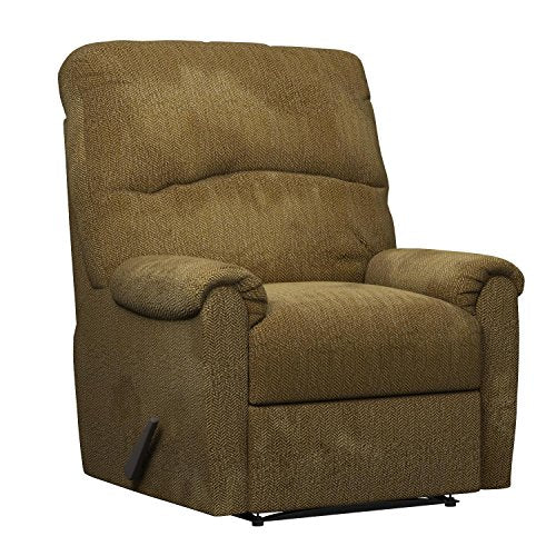 Ashley Furniture Signature Design - Pranit Recliner - Manual Reclining Chair - Walnut Brown