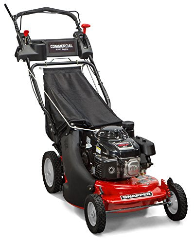 Snapper CP215520HV / 7800849 HI VAC 3-N-1 Rear Wheel Drive Variable Speed Commercial Series Lawn Mower with 163cc Honda GXV160 Engine, 21-Inch Deck and 7 Position Height-of-Cut