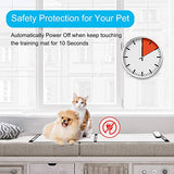 Pet Shock Mat - 60 x 12 Inches Pet Training Mat for Cats Dogs, 3 Training Modes Pet Shock Pad, Indoor Use Dogs Cats Training Mat for Sofa w/LED Indicator, Intelligent Safety Protect