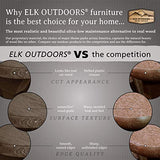 Elk Outdoors EO-OTL1-ABY The Essential Folding Ottoman, Abyss, Abyss