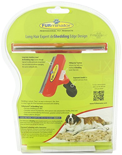 Furminator LongHair deShedding Tool for Giant Dogs