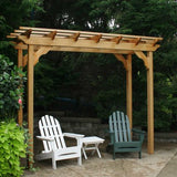 Creekvine Designs Cedar New Dawn Pergola 4Ft x 14Ft