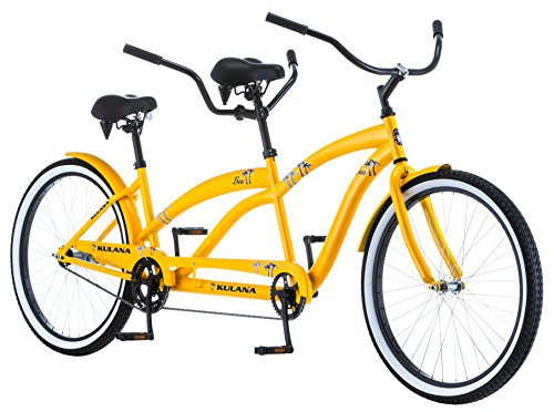 "Kulana Lua Single Speed Tandem 26"" wheel, Yellow, 17""/Medium frame size"