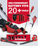 PowerSmart PS76215A Cordless Lawn Mower, 3Ah Battery and Charger Included