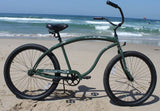 Firmstrong Bruiser Man Single Speed Beach Cruiser Bicycle, 26-Inch, Matte Army Green
