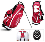 Team Golf NFL Arizona Cardinals Fairway Golf Stand Bag, Lightweight, 14-way Top, Spring Action Stand, Insulated Cooler Pocket, Padded Strap, Umbrella Holder & Removable Rain Hood