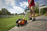 "WORX WG896 12 Amp 7.5"" Electric Lawn Edger & Trencher, 7.5in, Orange and Black"