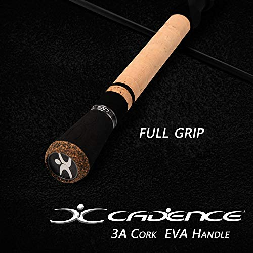 Cadence Fishing CR5 Spinning Rods | 30 Ton Carbon | Fuji Reel Seat | Stainless Steel Guides with SiC Inserts |CR5-481S-ULM