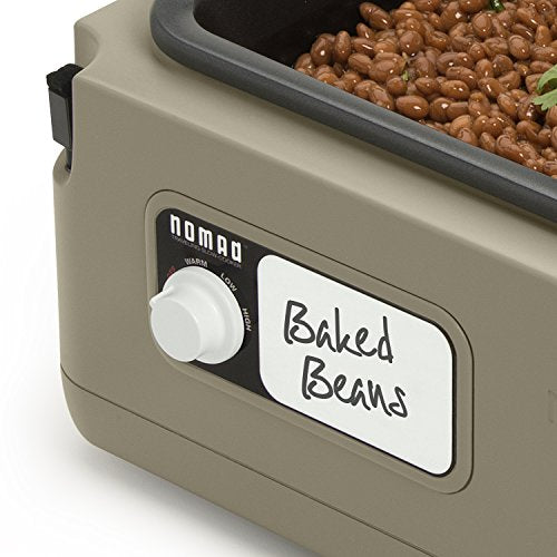 """Presto 06012 Nomad 8-quart Traveling Slow Cooker, Tan"