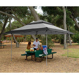 Z-Shade 13 x 13 Foot Instant Gazebo Canopy Tent Outdoor Patio Shelter, Gray