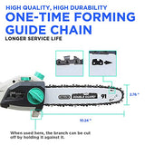 LiTHELi 40V 10 inches Cordless Pole Saw with 2.5AH Battery and Charger