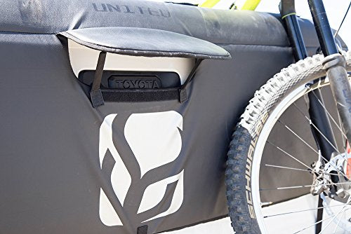 "Demon Tailgate Pad for Mountain Bikes with Tool Pocket for Mechanic Tools/Tailgate Cover with Secure Bike Frame Straps (Small (54"" Wide) fits mid-Sized Pick-ups)"