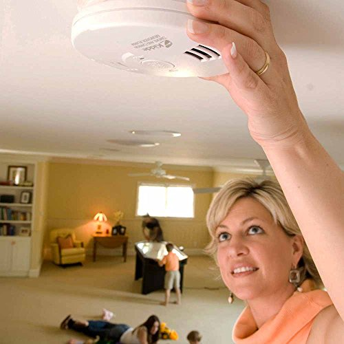 Kidde 21026043 Battery-Operated(Not Hardwired) Combination Smoke/Carbon Monoxide Alarm with Voice Warning KN-COSM-BA
