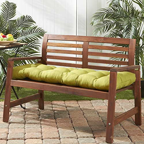 Greendale Home Fashions 51-Inch Indoor/Outdoor Bench Cushion, Kiwi