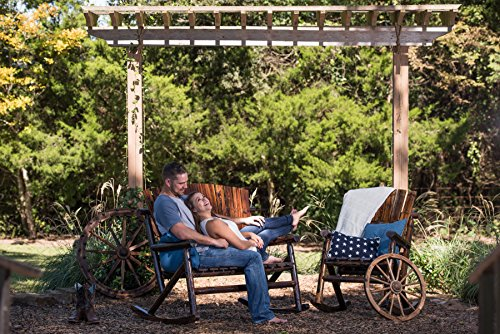 Leigh Country TX 93866 Char-Log Double Rocker