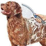 "Waterpik PPR-252 Pet Wand Pro Dog Shower Attachment, 13"", Blue/Grey System for Fast and Easy Bathing"