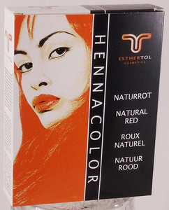 Henna Color Pulver Naturrot