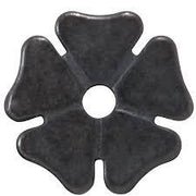 "1"" Thick Cloverleaf Rowel in Antique Brown-Atomic 79"